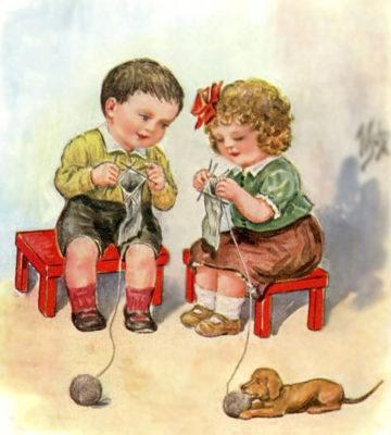 kinderen-breien
